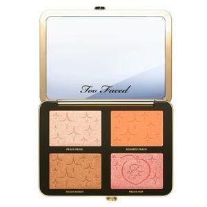 Too Faced Makeup - Too Faced Sugar Peach Face & Eye Palette